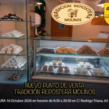 El obrador Tradición Repostera Molinos abre en Triana para recuperar los sabores tradicionales de 1900